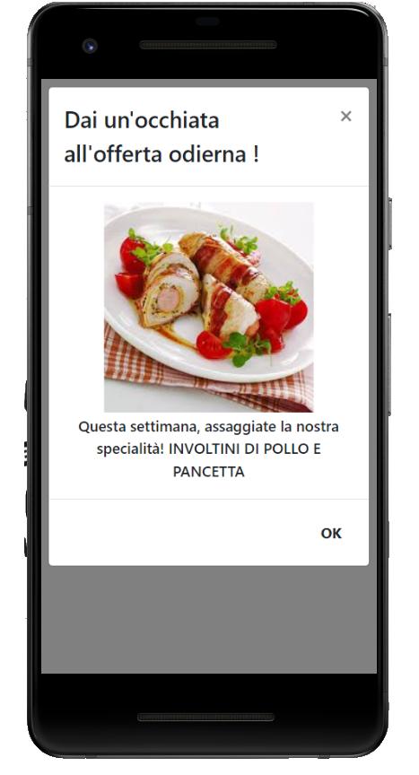 RistoRaggio integrazione IL MIO LOCALE facebook post demo